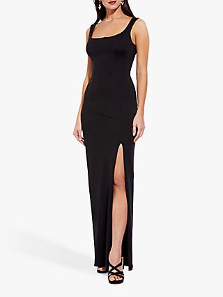 Adrianna Papell Lola Jersey Dress, Black