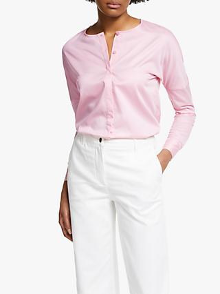 John Lewis & Partners Collarless Shirt