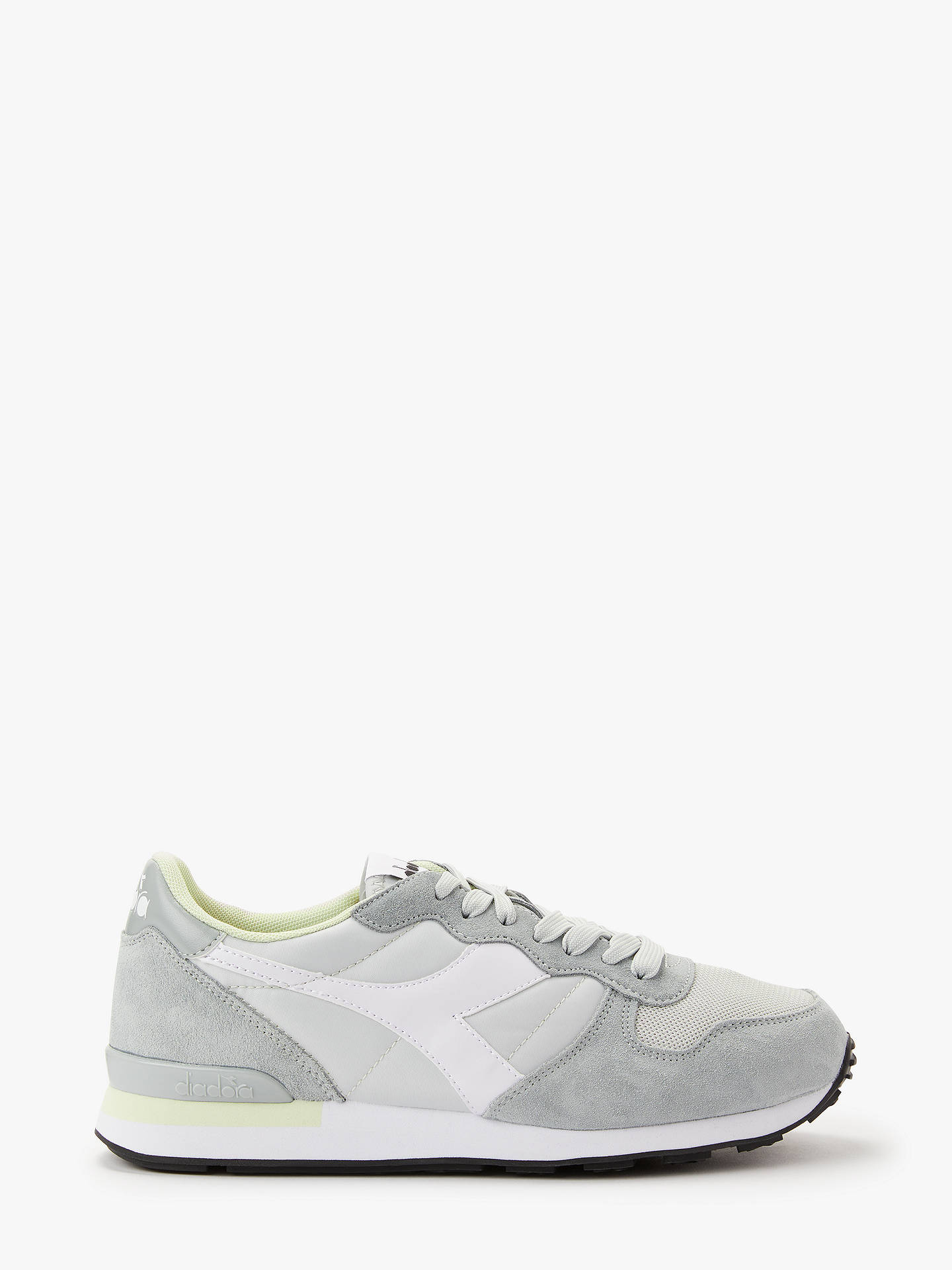 719da39b64 Diadora Camaro Lace Up Trainers, High Rise/Limestone at John Lewis ...