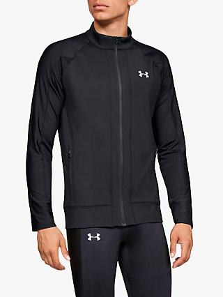 Under Armour ColdGear Knit Men's Running Jacket, Black