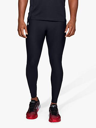 Under Armour Qualifier HeatGear Running Tights, Black