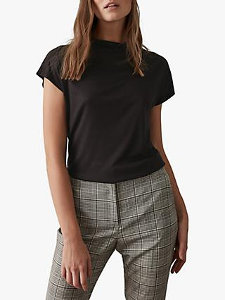 Reiss Pax High Neck Top