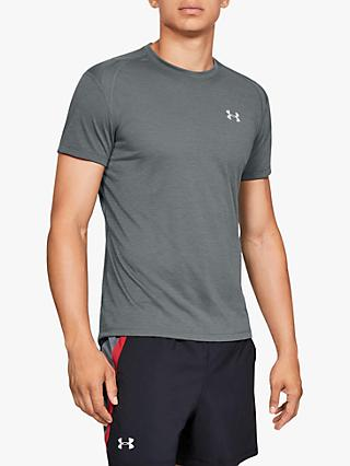 Under Armour Streaker 2.0 Short Sleeve Top, Grey
