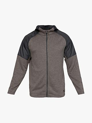 Under Armour Unstoppable Light Full Zip Training Hoodie, Black