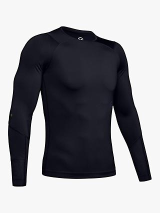 20dde0a8 Under Armour Rush Long Sleeve Compression Top, Black