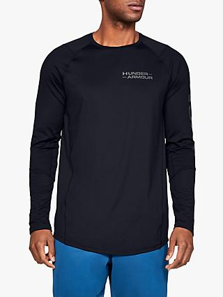 Under Armour MK-1 Graphic Long Sleeve Training T-Shirt, Black