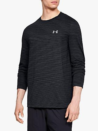 Under Armour Vanish Seamless Long Sleeve Top, Black