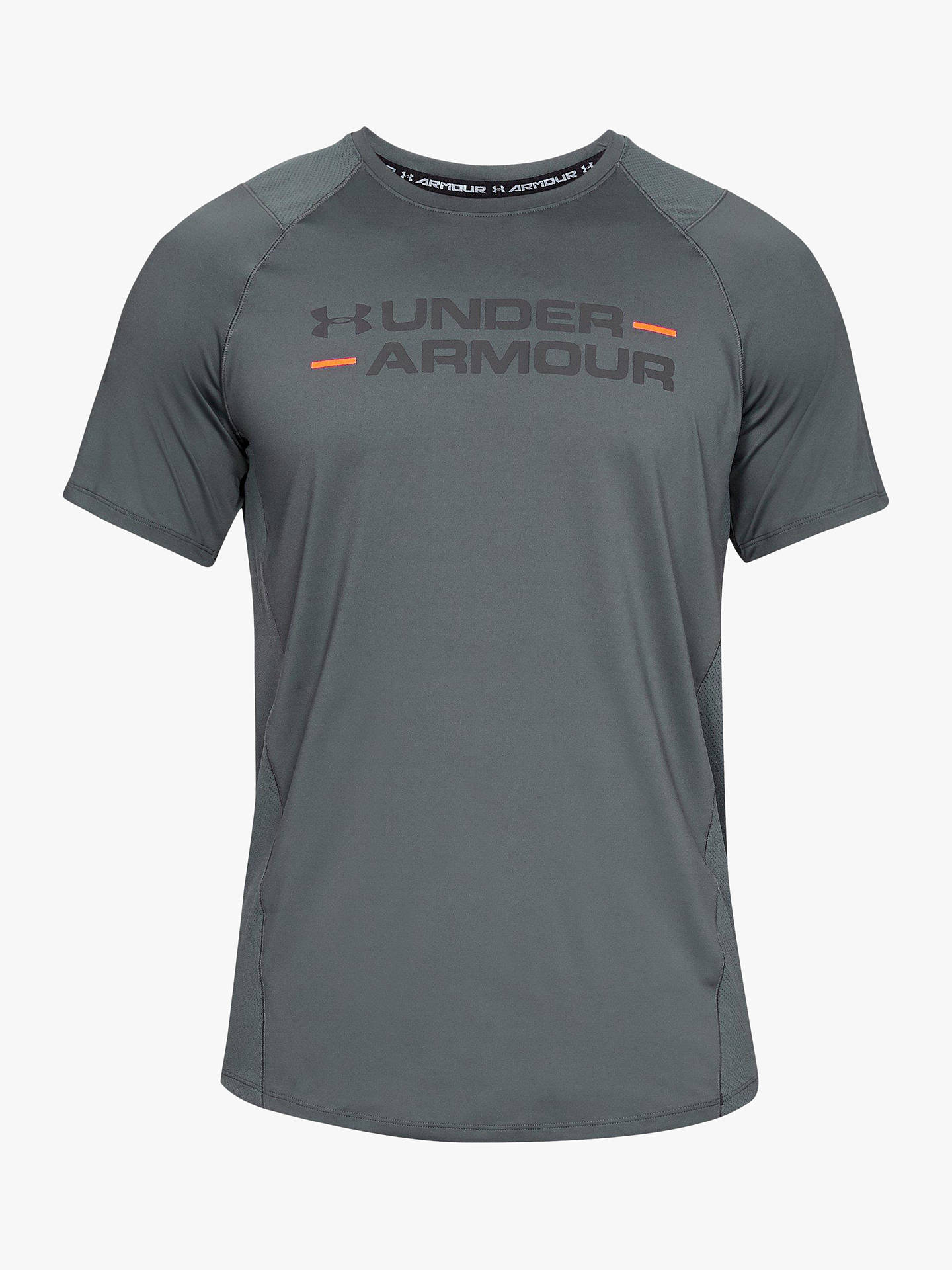 073f4ef7f Under Armour MK-1 Wordmark Short Sleeve T-Shirt at John Lewis & Partners
