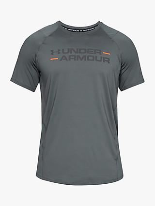 Under Armour MK-1 Wordmark Short Sleeve T-Shirt