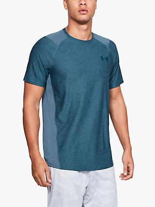 Under Armour MK1 Short Sleeve T-Shirt, Blue