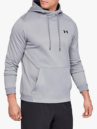 Under Armour Fleece Pull Over Training Hoodie, Grey