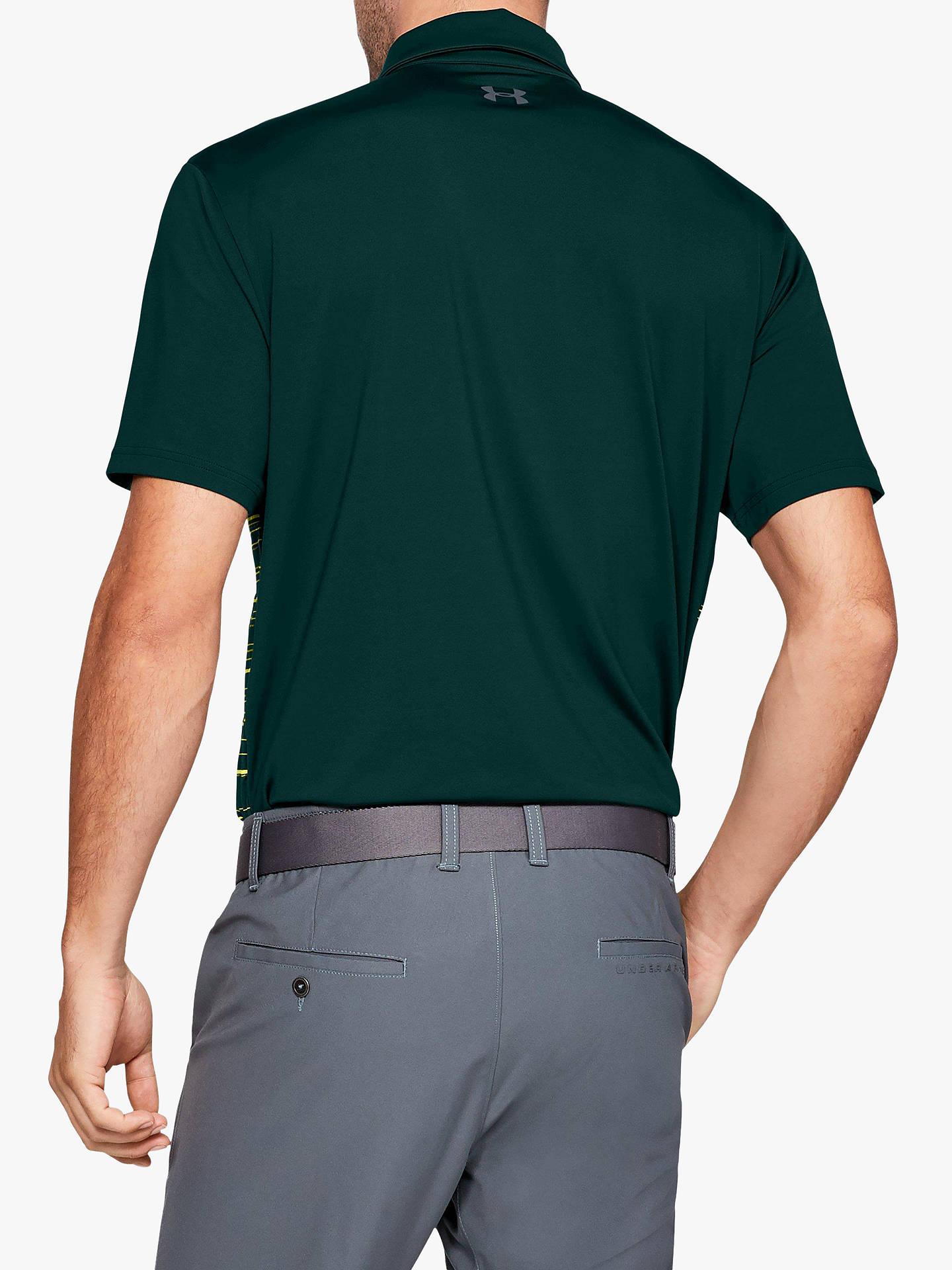 sentido común formato Abiertamente  Under Armour Playoff 2.0 Golf Polo Shirt, Green at John Lewis & Partners
