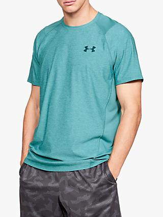 Under Armour MK1 Short Sleeve T-Shirt, Green