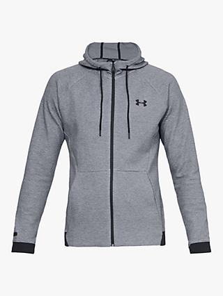 Under Armour Unstoppable Double Knit Full Zip Training Hoodie