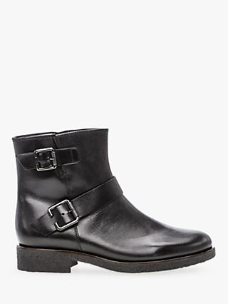 188dbacfd12 Gabor Broadway Leather Zip Up Boots