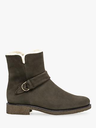 6ecdbc180ec4 Gabor Vixen Nubuck Zip Up Boots