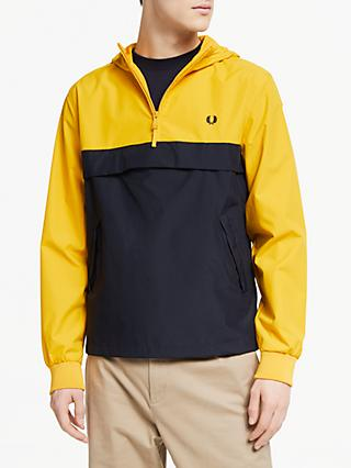c78f4171958 Fred Perry Half Zipped Panelled Jacket
