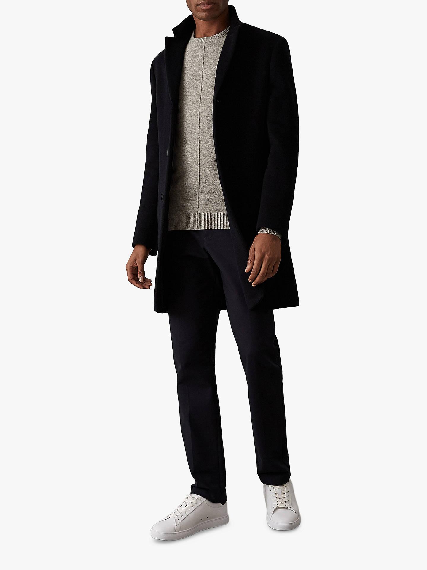 b057464c8c9 ... Buy Reiss Champion Wool Cashmere Jumper, Grey, S Online at  johnlewis.com ...