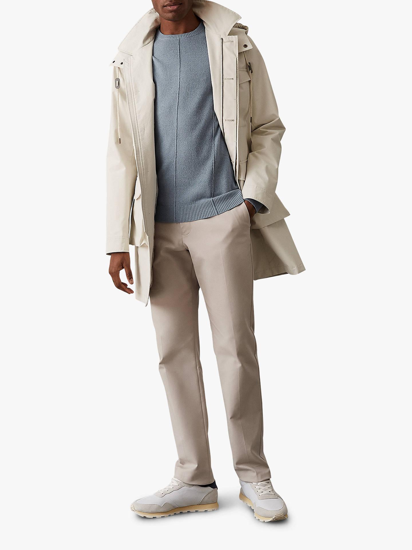 c64098c3411 ... Buy Reiss Champion Wool Cashmere Jumper, Airforce Blue, XL Online at  johnlewis.com ...