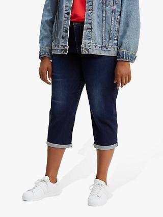 Levi s Plus Shaping Capri Jeans b0091f66ad