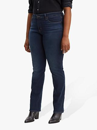 1bfbb822 Levi's Plus 314 Shaping Straight Jeans, Dark Horse