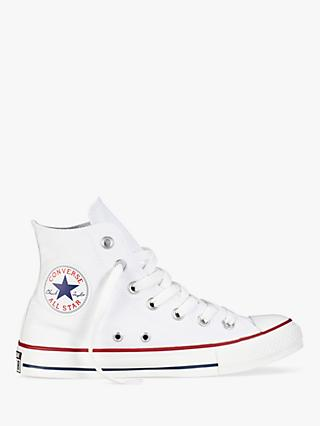 Converse Chuck Taylor All Star Canvas High-Top Trainers, White