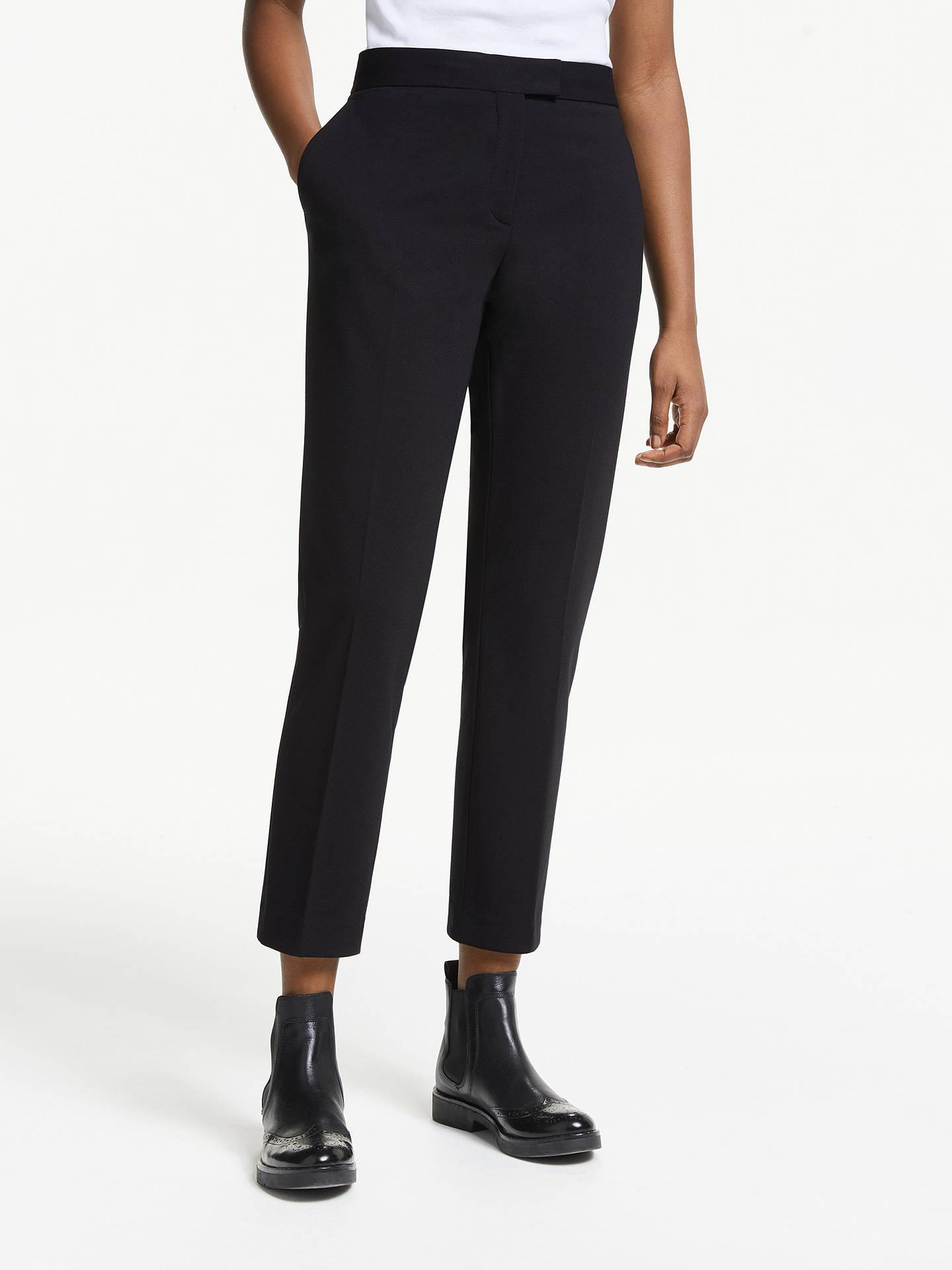a0a2e9e1a0a329 Buy PS Paul Smith Milano Slim Leg Trousers, Black, 8 Online at johnlewis.