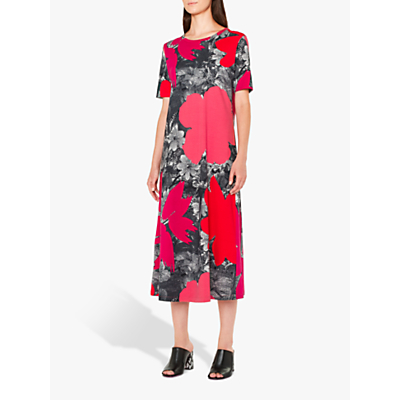 PS Paul Smith Rainforest Jersey Dress, Pink/Multi