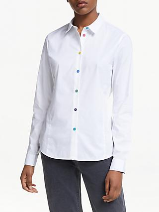 PS Paul Smith Multi Button Shirt, White