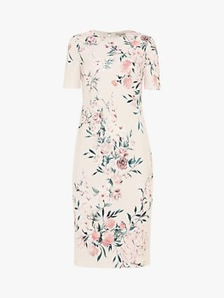 Phase Eight Danni Floral Dress, Tea Rose