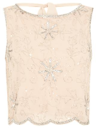 Phase Eight Maude Embellished Top, Cameo