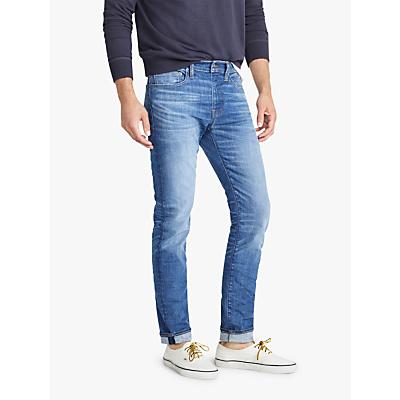 J.Crew 484 Slim Fit Denim Jeans, Light Vintage Indigo