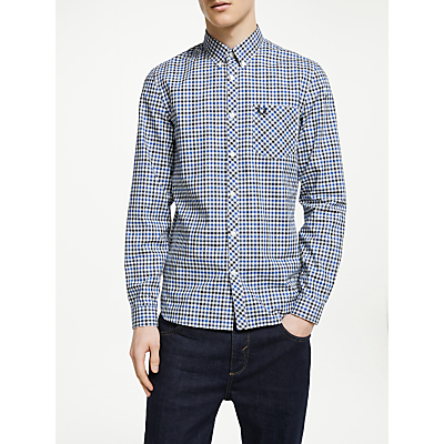 Fred Perry Four Colour Gingham Shirt, Royal