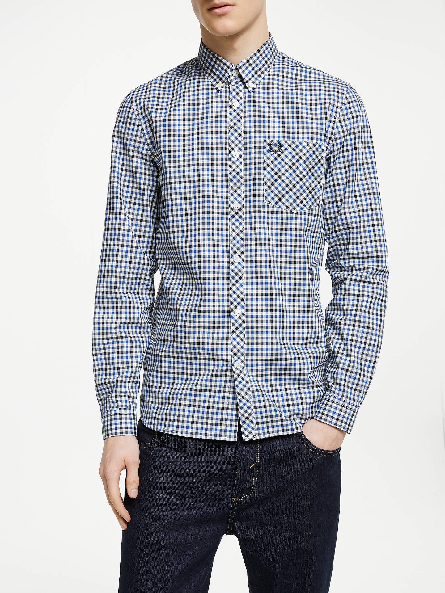 aaeb838fe0b Buy Fred Perry Four Colour Gingham Shirt