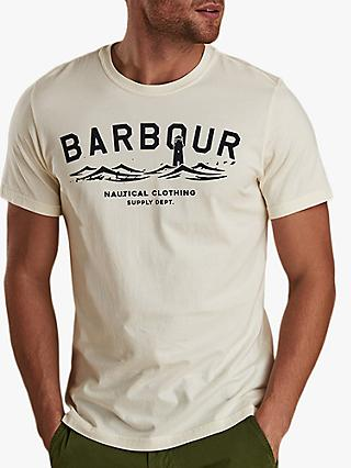 Barbour Bressay Graphic T-Shirt, White