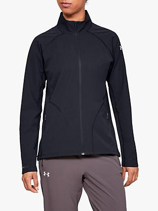 Under Armour Storm Launch Women's Running Jacket, Black