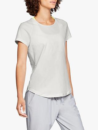 Under Armour Vanish Short Sleeve Top, White