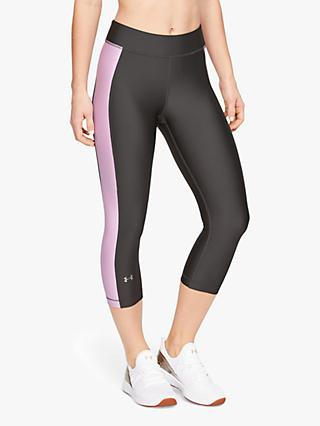 Under Armour Capri Tights, Grey/Multi