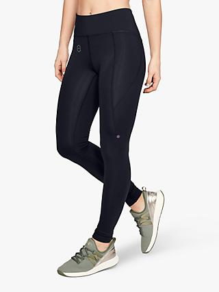 best sneakers db5cb 7b75e Under Armour Rush Compression Training Tights, Black
