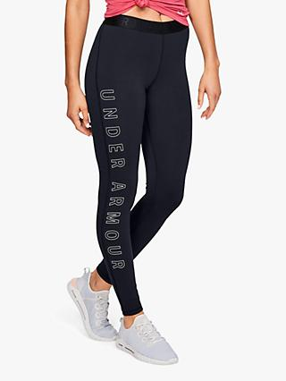 Under Armour Favourite Graphic Training Tights, Black
