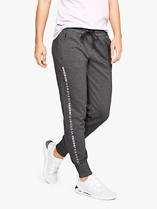 Under Armour Ottoman Fleece Joggers, Grey