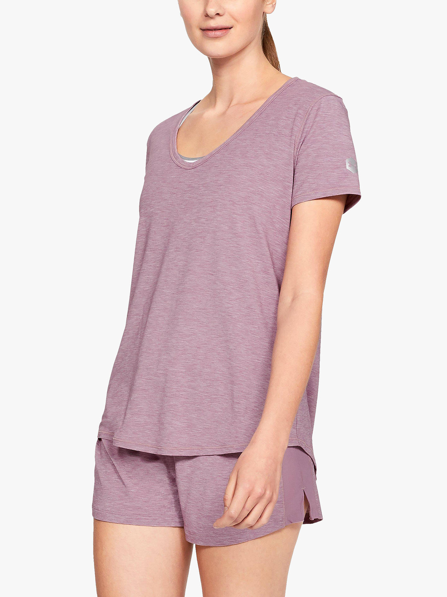 52f695a130 Under Armour Athlete Recovery Sleepwear T-Shirt at John Lewis & Partners