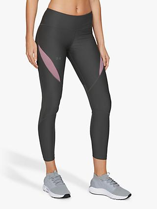 Under Armour Vanish Ankle Crop Training Tights, Grey