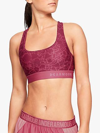 51dfdc6894a Under Armour Crossback Mid Sports Bra