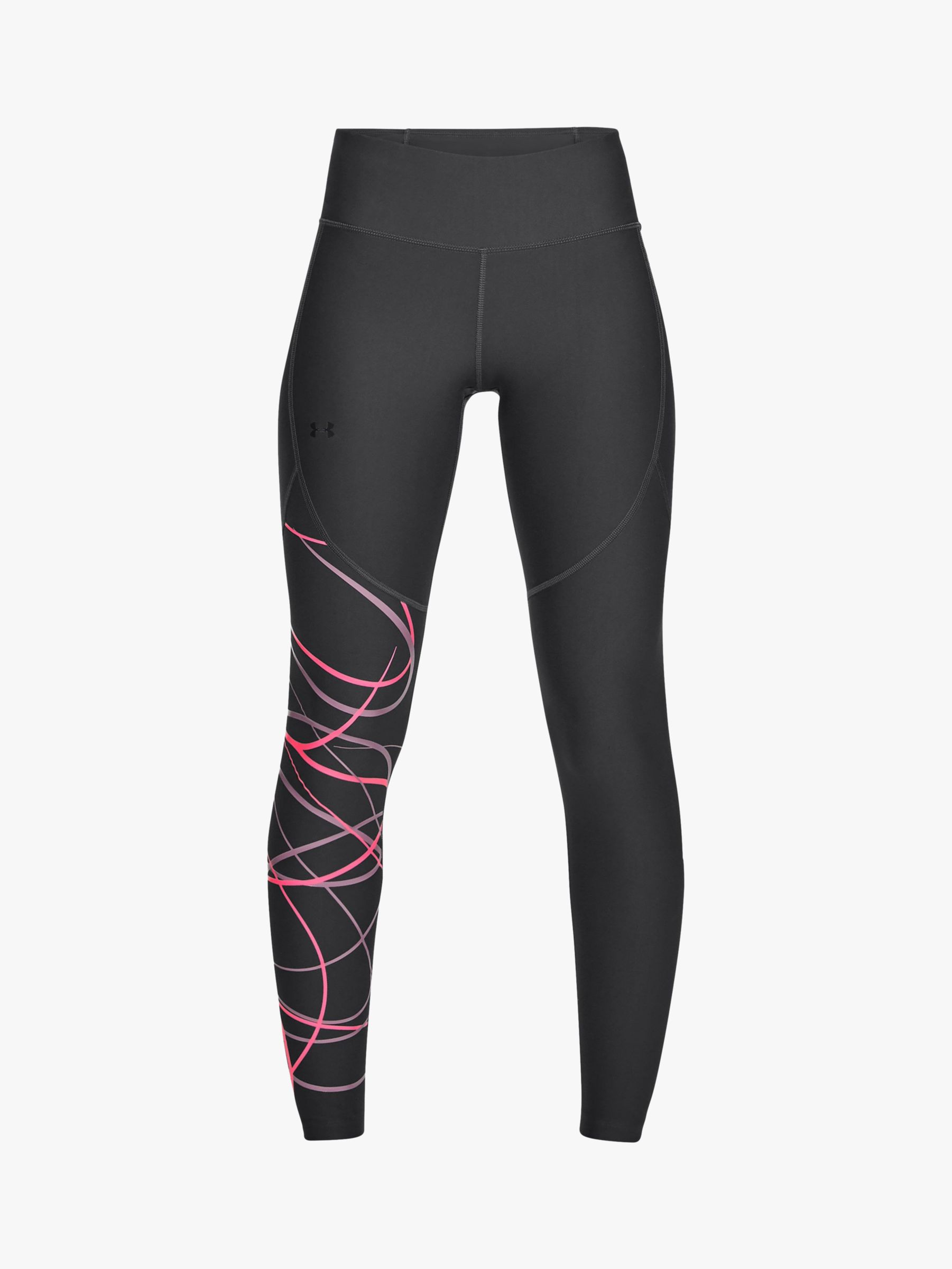 80ba1bf1b8c7ca Under Armour Vanish Graphic Training Tights, Black at John Lewis & Partners