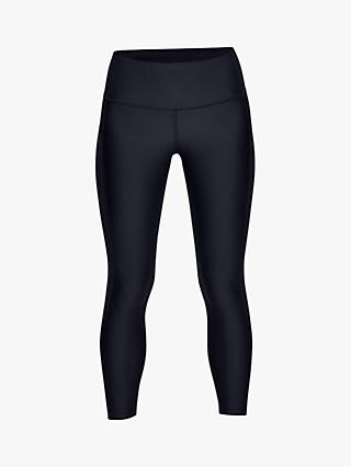 Under Armour HeatGear Cropped Ankle Training Tights, Black