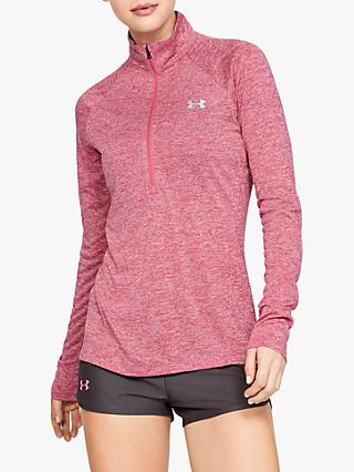 b7a199de66691 Under Armour Tech Twist 1 2 Zip Long Sleeve Training Top