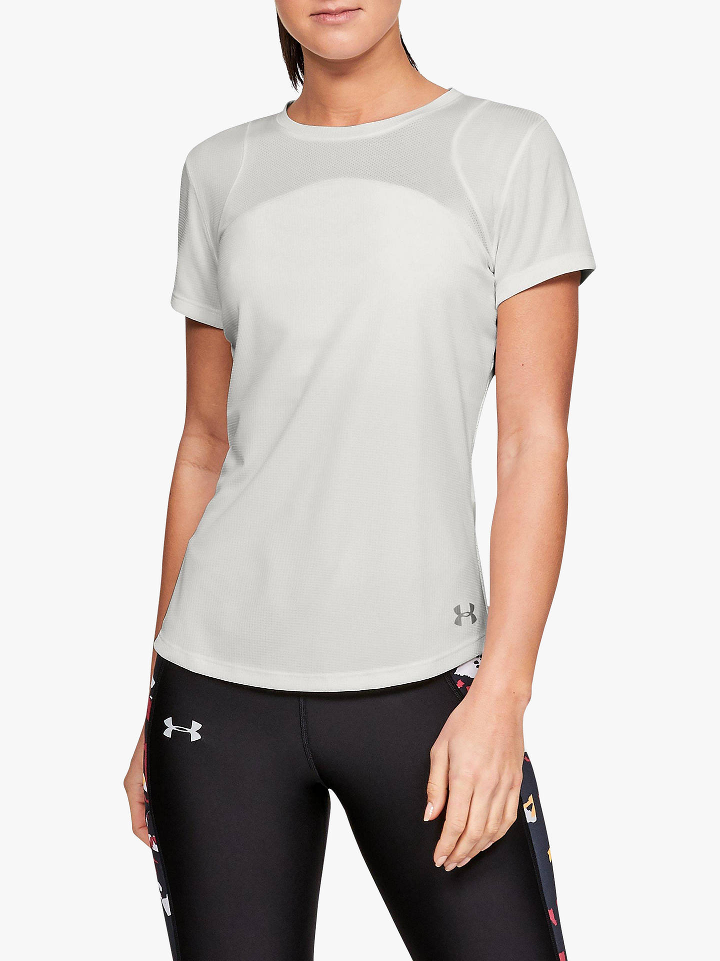 28677a90 Under Armour Speed Stride Mesh Short Sleeve Running Top, White
