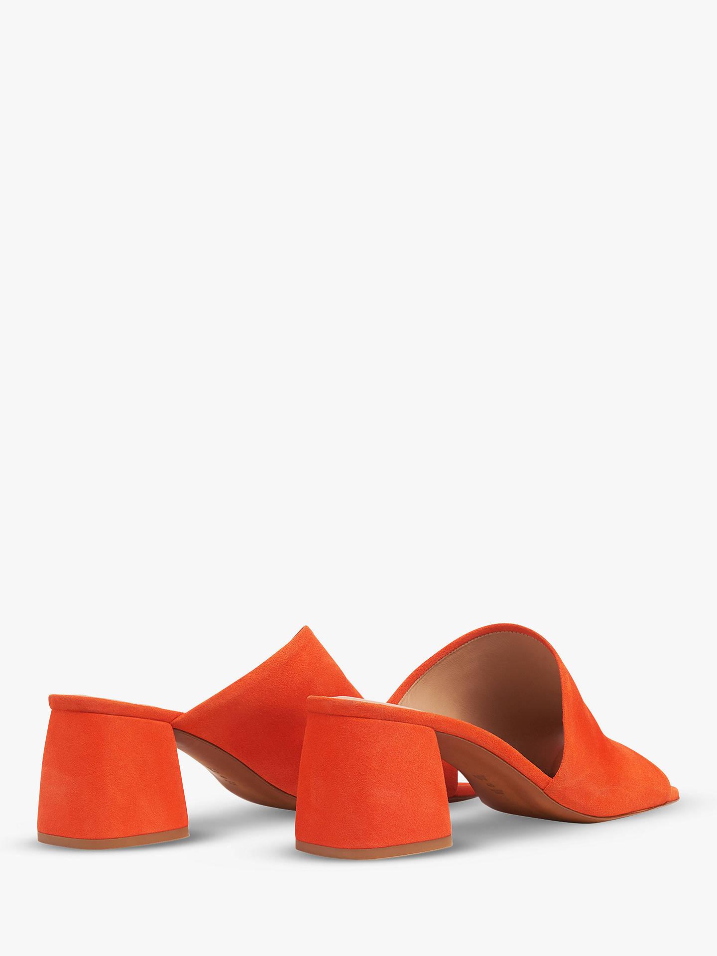 a4079c583442 Whistles Arcade Asymmetric Block Heel Sandals at John Lewis   Partners