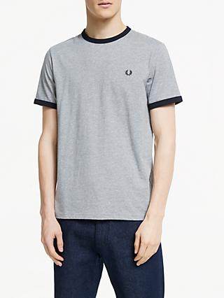 afdb11b73 Fred Perry Ringer Crew Neck T-Shirt
